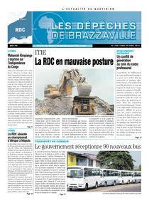 Les Dépêches de Brazzaville : Édition kinshasa du 22 avril 2013