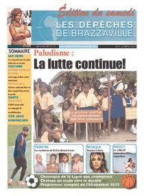 Les Dépêches de Brazzaville : Édition du 6e jour du 27 avril 2013