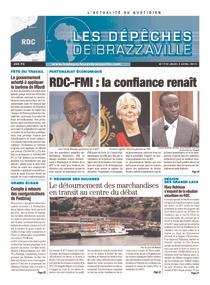 Les Dépêches de Brazzaville : Édition kinshasa du 02 mai 2013