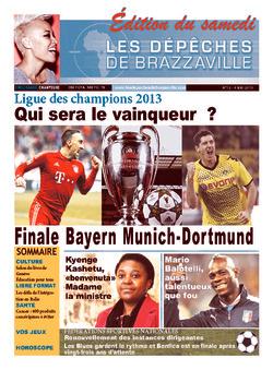 Les Dépêches de Brazzaville : Édition du 6e jour du 04 mai 2013