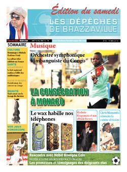 Les Dépêches de Brazzaville : Édition du 6e jour du 11 mai 2013