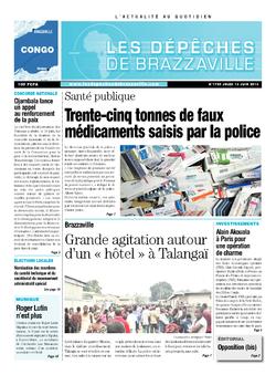 Les Dépêches de Brazzaville : Édition brazzaville du 13 juin 2013