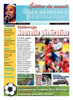 Les Dépêches de Brazzaville : Édition brazzaville du 14 juin 2013