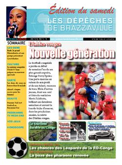 Les Dépêches de Brazzaville : Édition du 6e jour du 15 juin 2013