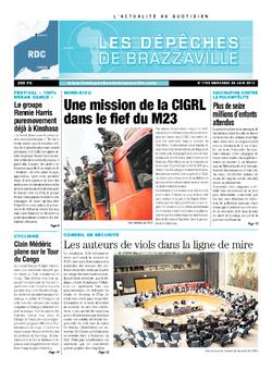 Les Dépêches de Brazzaville : Édition kinshasa du 26 juin 2013