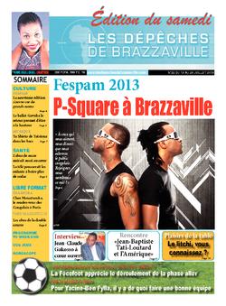 Les Dépêches de Brazzaville : Édition du 6e jour du 13 juillet 2013