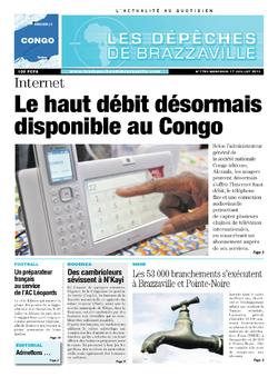 Les Dépêches de Brazzaville : Édition brazzaville du 17 juillet 2013