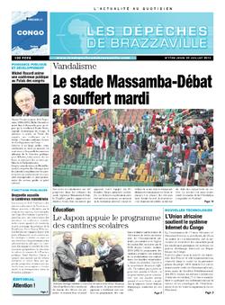 Les Dépêches de Brazzaville : Édition brazzaville du 25 juillet 2013
