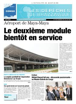 Les Dépêches de Brazzaville : Édition brazzaville du 26 juillet 2013