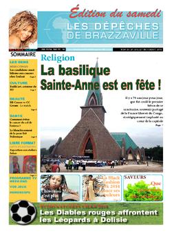 Les Dépêches de Brazzaville : Édition du 6e jour du 27 juillet 2013