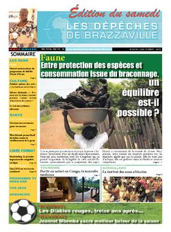 Les Dépêches de Brazzaville : Édition du 6e jour du 03 août 2013
