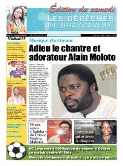 Les Dépêches de Brazzaville : Édition du 6e jour du 10 août 2013