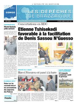 Les Dépêches de Brazzaville : Édition brazzaville du 19 août 2013
