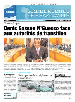 Les Dépêches de Brazzaville : Édition brazzaville du 20 août 2013