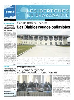 Les Dépêches de Brazzaville : Édition brazzaville du 21 août 2013