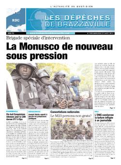 Les Dépêches de Brazzaville : Édition kinshasa du 21 août 2013