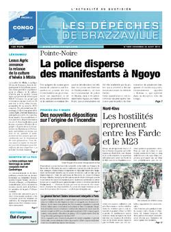 Les Dépêches de Brazzaville : Édition brazzaville du 23 août 2013