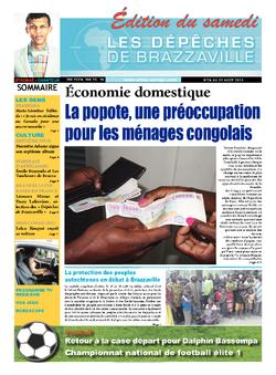 Les Dépêches de Brazzaville : Édition du 6e jour du 24 août 2013