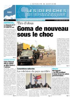 Les Dépêches de Brazzaville : Édition kinshasa du 26 août 2013