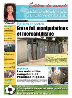 Les Dépêches de Brazzaville : Édition du 6e jour du 21 septembre 2013