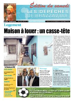 Les Dépêches de Brazzaville : Édition du 6e jour du 28 septembre 2013