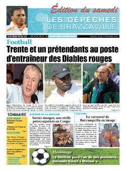 Les Dépêches de Brazzaville : Édition du 6e jour du 12 octobre 2013