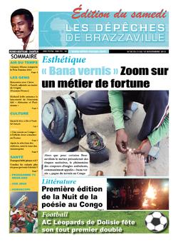 Les Dépêches de Brazzaville : Édition du 6e jour du 09 novembre 2013