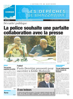 Les Dépêches de Brazzaville : Édition brazzaville du 15 novembre 2013