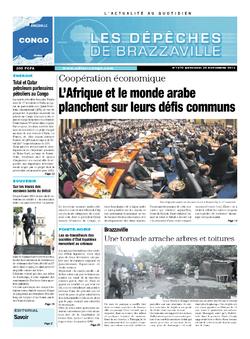 Les Dépêches de Brazzaville : Édition brazzaville du 20 novembre 2013
