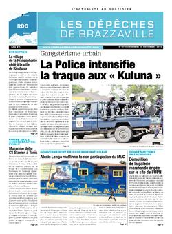 Les Dépêches de Brazzaville : Édition kinshasa du 22 novembre 2013