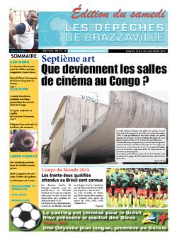 Les Dépêches de Brazzaville : Édition du 6e jour du 23 novembre 2013