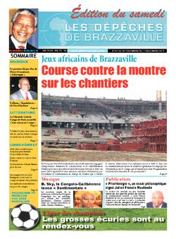 Les Dépêches de Brazzaville : Édition du 6e jour du 30 novembre 2013
