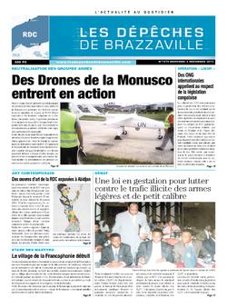 Les Dépêches de Brazzaville : Édition kinshasa du 04 décembre 2013