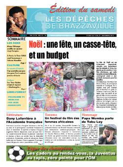 Les Dépêches de Brazzaville : Édition du 6e jour du 14 décembre 2013