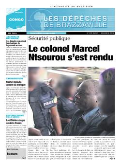 Les Dépêches de Brazzaville : Édition brazzaville du 17 décembre 2013