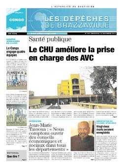 Les Dépêches de Brazzaville : Édition brazzaville du 18 décembre 2013