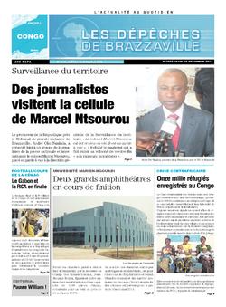 Les Dépêches de Brazzaville : Édition brazzaville du 19 décembre 2013