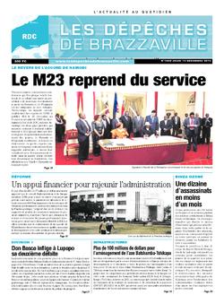 Les Dépêches de Brazzaville : Édition kinshasa du 19 décembre 2013