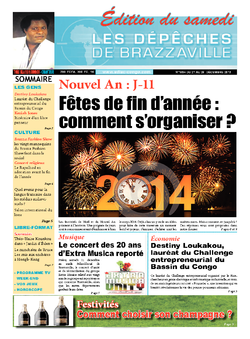 Les Dépêches de Brazzaville : Édition du 6e jour du 21 décembre 2013