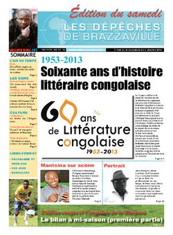 Les Dépêches de Brazzaville : Édition du 6e jour du 28 décembre 2013