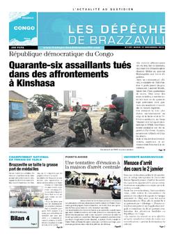 Les Dépêches de Brazzaville : Édition brazzaville du 31 décembre 2013