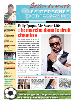 Les Dépêches de Brazzaville : Édition du 6e jour du 04 janvier 2014