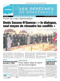 Les Dépêches de Brazzaville : Édition brazzaville du 07 janvier 2014