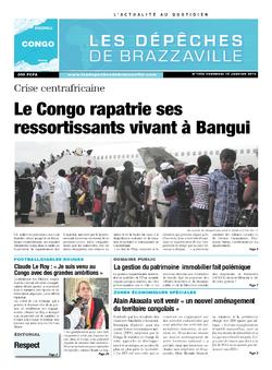 Les Dépêches de Brazzaville : Édition brazzaville du 10 janvier 2014