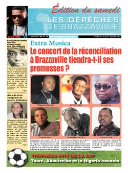 Les Dépêches de Brazzaville : Édition du 6e jour du 11 janvier 2014