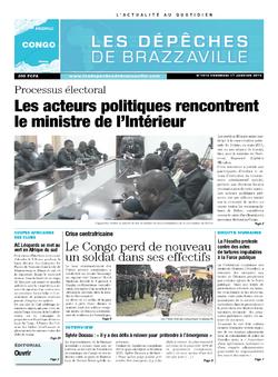 Les Dépêches de Brazzaville : Édition brazzaville du 17 janvier 2014