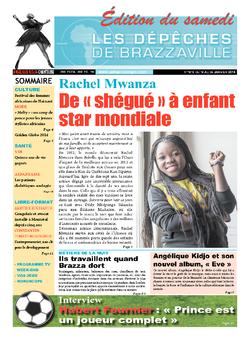 Les Dépêches de Brazzaville : Édition du 6e jour du 18 janvier 2014