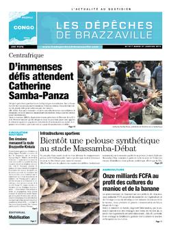 Les Dépêches de Brazzaville : Édition brazzaville du 21 janvier 2014