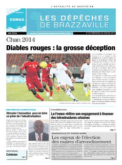 Les Dépêches de Brazzaville : Édition brazzaville du 22 janvier 2014
