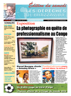 Les Dépêches de Brazzaville : Édition du 6e jour du 25 janvier 2014